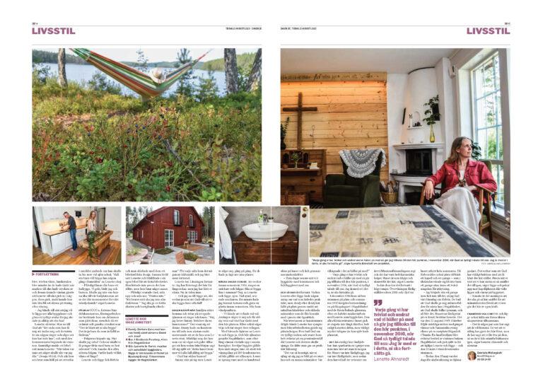 Dagen artikel Hagablänket - Sida 2