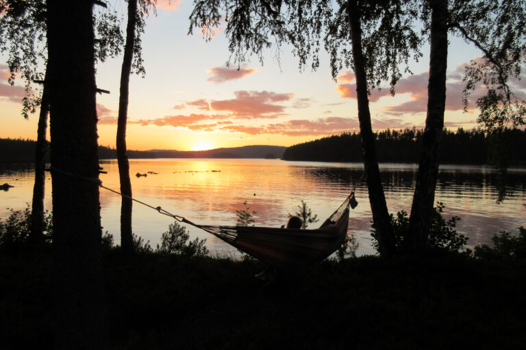 Sunset hammoc1